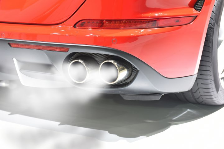 Exhaust system, book in for an inspections